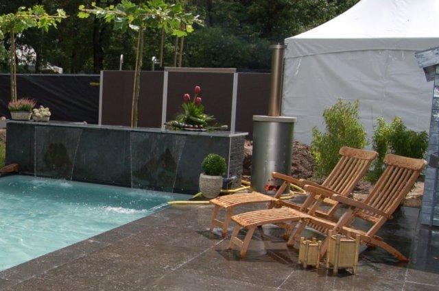 Top fivavat with zwembad verwarmen met houtkachel for Zwembad verwarmen